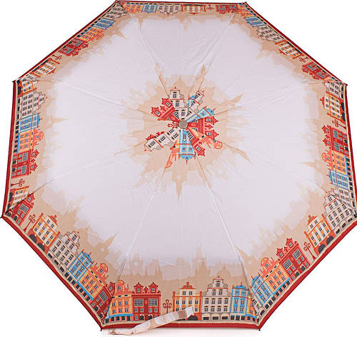 Красивый женский зонт, полуавтомат, антиветер AIRTON (АЭРТОН) Z3615-64