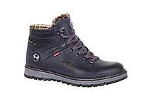 Зимние кожаные ботинки Bumer 76