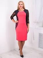 Стильное женское платье №715