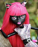 Кукла Monster High Кэтти Нуар (Catty Noir) Новый Скарместр Монстер Хай Школа монстров