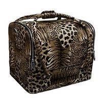 Кейс для косметики леопардовый