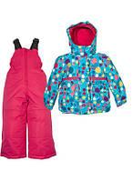 Зимний костюм для девочки Zingaro by Gusti ZWG 4873 BLUE ATOLL. Размер 92 - 116.
