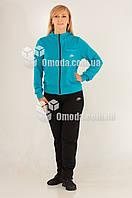Женский голубой спортивный костюм Nike