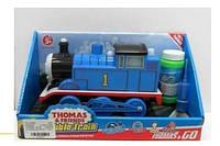 Паровозик на батарейках Thomas Bubble Train мыльные пузыри