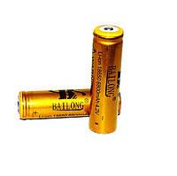 Аккумулятор Bailong 18650 Li-ion 6800mah 3.7V р. золотой