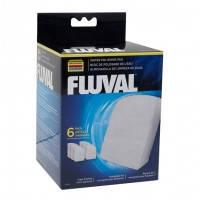 Hagen Fluval Polishing Pad фильтрующая губка для полирования воды для фильтров Fluval 304, 305, 306, 404, 405, 406, 6шт