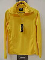 """Спортивная желтая женская кофта фирмы Killtec """"Morgan""""."""