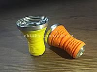 Металлическая чаша покрытая силликоном