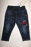 Модные джинсы на мальчика рост 74,80 на резинке