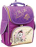 Ранец Долго и счастливо школьный ортопедический для девочек 1 Вересня, 552204 фиолетовый