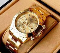 Мужские наручные часы Rolex Daytona Gold (механические)