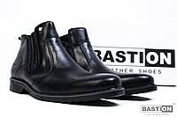 Мужские кожаные зимние ботинки классика 40-45 размер