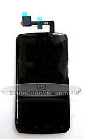 Дисплей HTC G18, Z715e Sensation XE, с тачскрином, б/у, протестированный