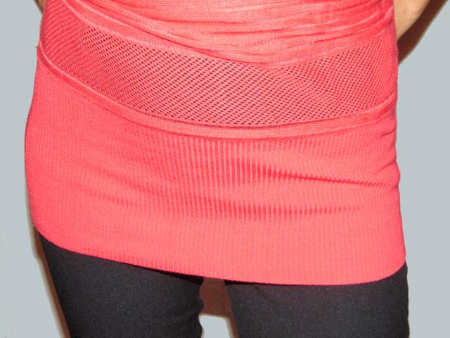 Элемент узора резинки женского модного свитера Бритни SvBr41