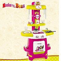 Стильная детская кухня Cooky Masha Smoby 310700