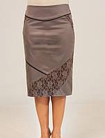 Очаровательная модная батальная женская юбка