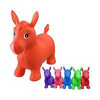 Прыгун лошадка детская резиновый Bambi MS 0001