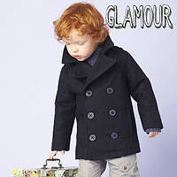Классное демисезонное пальто для мальчика из кашемира