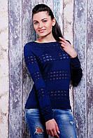 Вязаный свитерок Бантик