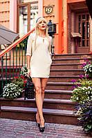 Платье молочного цвета Versal 42-50 размеры Jadone