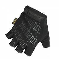 Перчатки тактические Mechanix беспалые V2 Black, фото 1