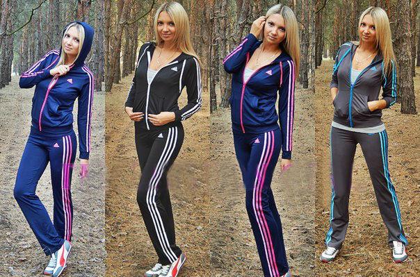 Женский спортивный костюм весна