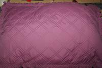 Покрывало +2 подушки лиловое