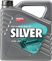 Полусинтетическое моторное масло TEBOIL SILVER 10W40 ✔ емкость 4л.