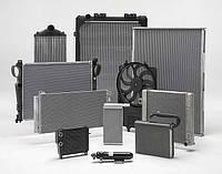 Радиатор на SsangYong Actyon, Kyron, Rexton, Korando, вентилятор, радиатор кондиционера