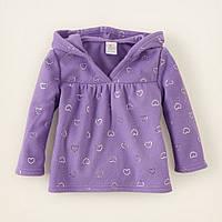 Флисовая кофта для девочки The Children`s Place из США.