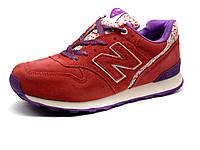 Кроссовки New Balance 996 женские, нубук, розовые, фото 1