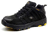 Ботинки зимние  KnoWay, мужские, черные, нубук (оригинал), фото 1