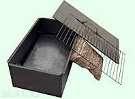 Коптильня с опилками - 1 уровень и поддон (Харьков). В комплекте щепа для копчения.