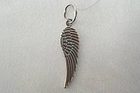 Кулон серебряный. Подвеска из серебра - крылья.