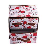 Складной органайзер шкафчик для хранения белья