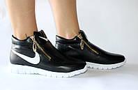 Женские спортивные кроссовки Nike черные