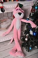 Игрушка мягкая розовая Пантера 125см