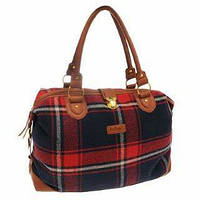 Женская сумка Lee Cooper Check Holdall . Сумка фитнес. Сумка в дорогу. Сумка для спорта.Код:КСМ201