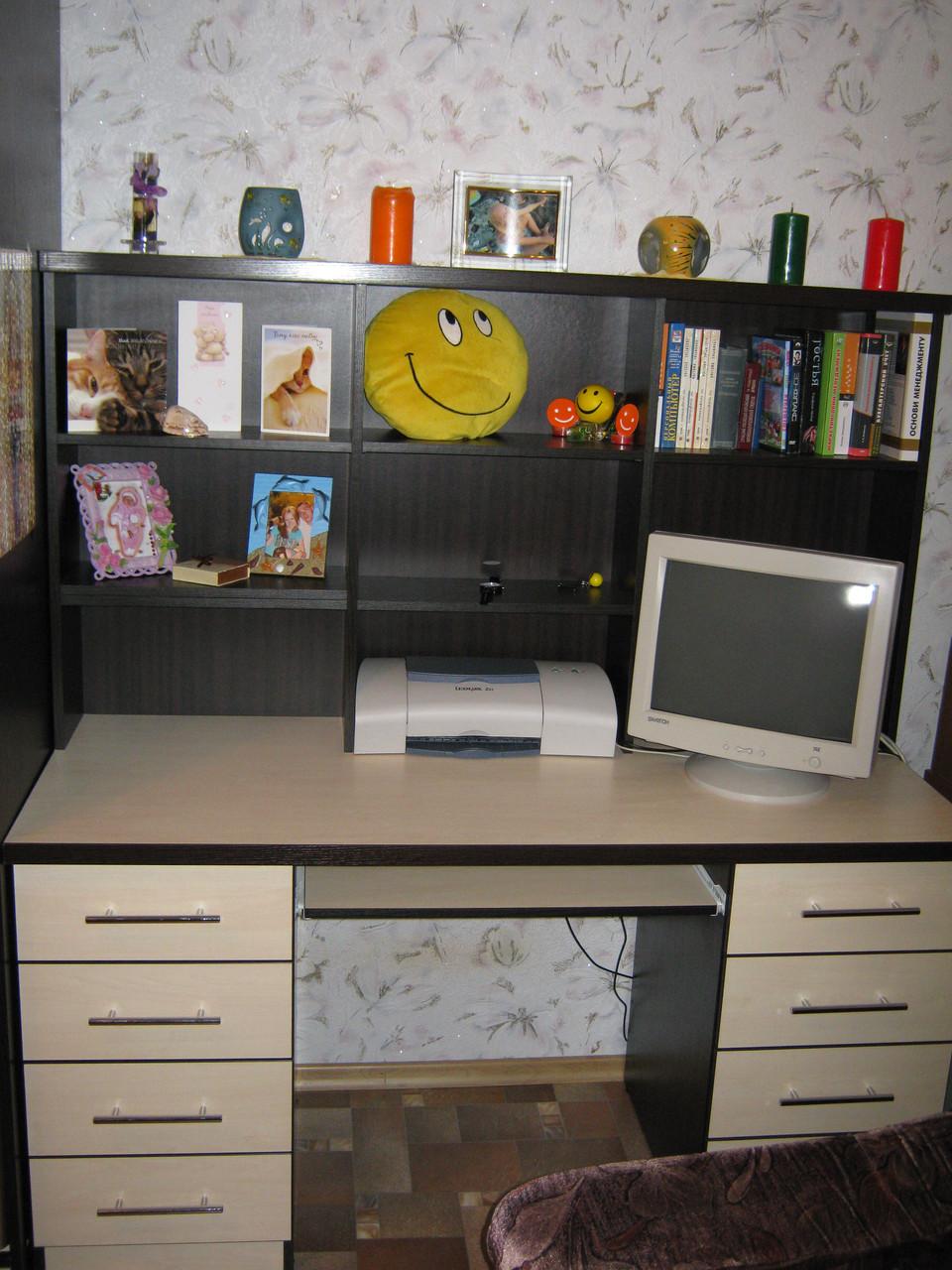 Стол компьютерный + шкаф-купе: продажа, цена в днепре. компь.