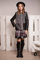 Пиджак-полупальто для девочки -подростка, размеры 36, 38, 40. (арт.К-106)