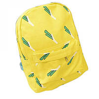 """Молодежный модный рюкзак """"Лук"""", желтый, качественный,фабричный!"""