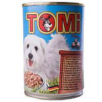 TOMi (Томи) 5 видов мяса (5 kinds of meat) консервы корм для собак банка 1.2 кг