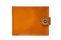 Кошелек, бумажник, портмоне мужской Gato Negro Classic Orange ручной работы