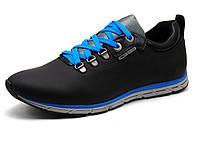 Спортивные туфли GS-комфорт, мужские, натуральная кожа, черные, Турция, фото 1