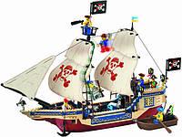 """Конструктор Brick 311 """"Пиратский корабль"""" (486 деталей) КК"""