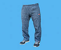 Брюки спортивные Nike трикотажные,демисезон.Сине-серые.24150