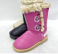 Детские зимние сапоги на девочек