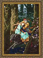 """Набор для вышивания крестом """"Иван Царевич и Серый волк по мотивам картины В.Васнецова"""""""