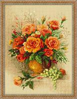 """Набор для вышивания """"Чайные розы"""""""