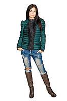 Женская куртка Рюша (зеленый), фото 1